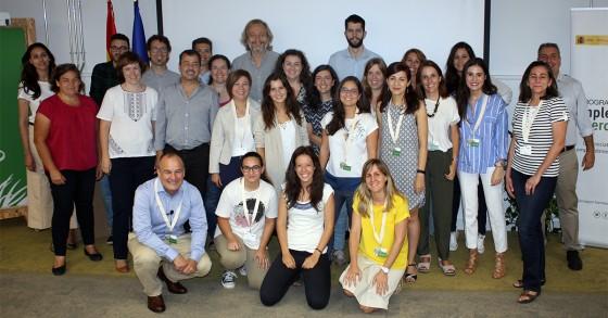 Alumnos y alumnas del programa Destino Empleo Verde