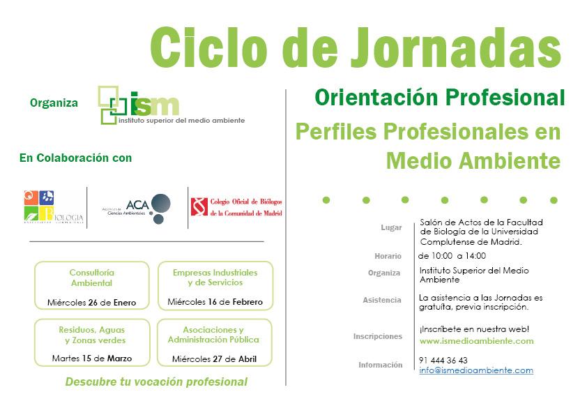 Jornadas de Desarrollo Profesional en Medio Ambiente