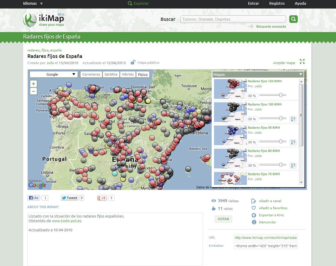 mapa-ikimap-radares-fijos-de-españa