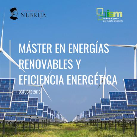Máster energías renovables presencial en Madrid
