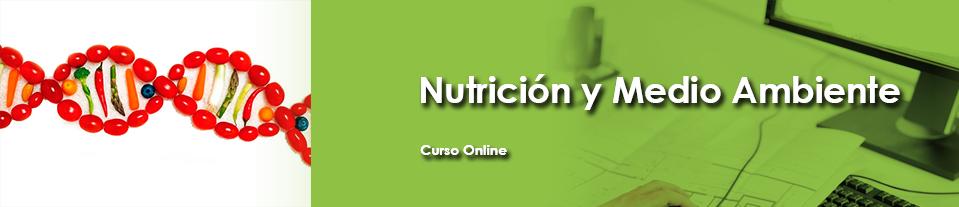 Curso online sobre nutrición y medio ambiente