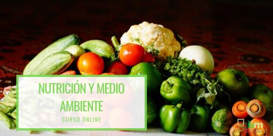 Curso online de nutrición y medio ambiente