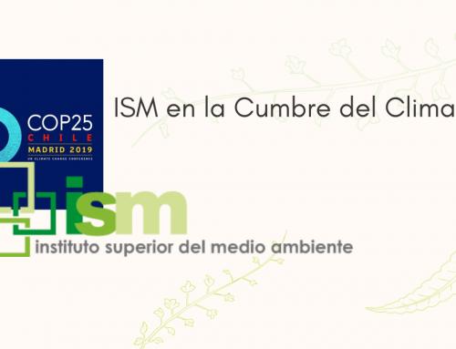 El ISM en la COP25