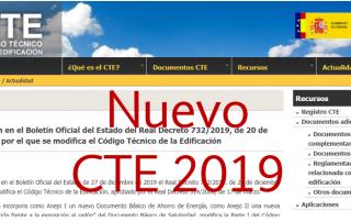 Nuevo CTE 2019