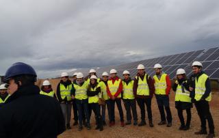 alumnos master planta fotovoltaica