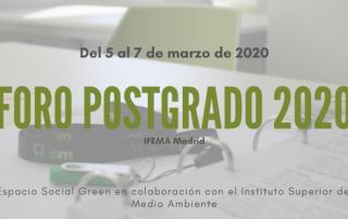 alón de Postgrado y Formación continua 2020