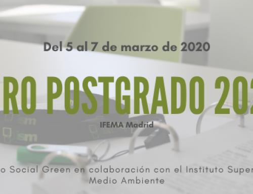 El Salón de Postgrado y Formación continua 2020 destaca la formación y oportunidades en Medio Ambiente