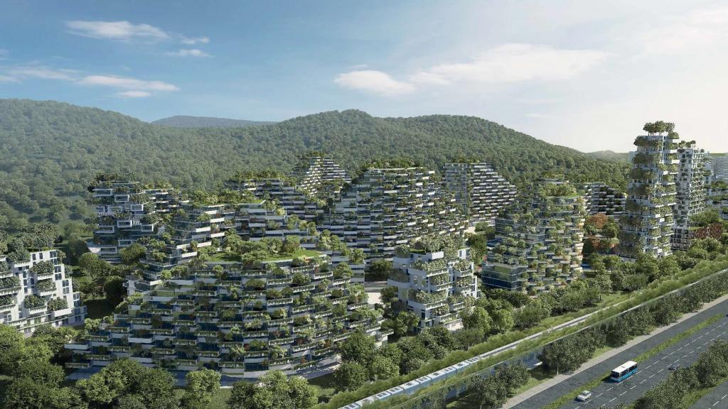 La ciudad-bosque de Liuzhou