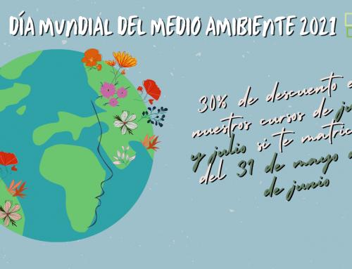 30% de descuento en nuestros cursos de verano por el Día Mundial del Medio Ambiente